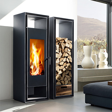 kaminofen prometheus ihr kaminofen meisterbetrieb kaminofen gate 2 0 holzregal. Black Bedroom Furniture Sets. Home Design Ideas